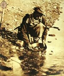 סינון זהב מסחף נהרות, אלסקה