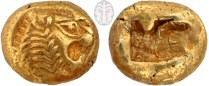"""סטטר, המתאר ראש אריה, לידיה (אסיה הקטנה), 600 לפנה""""ס לערך"""